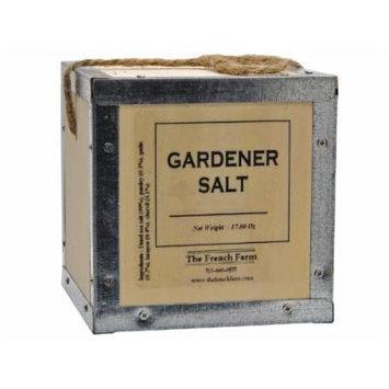 Gardener Salt Pere Pelletier Salt from France in Wood Box 17.6 oz