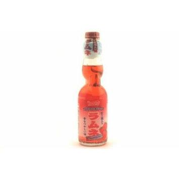 Shirakiku Ramune Soda (Strawberry) - 6.7oz (6 packs)