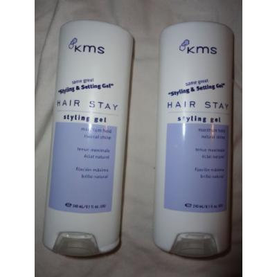 KMS Hair Stay Styling Gel 8.1oz (set of 2)