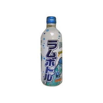 Sangaria Ramune Soft Drink Carbonated Flavor 6 Pack of 500 ml Cans