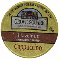 Grove Square Cappuccino Cups, Hazelnut, Single Serve Cup for Keurig K-Cup Brewers, 24 Count (Pack of 2)