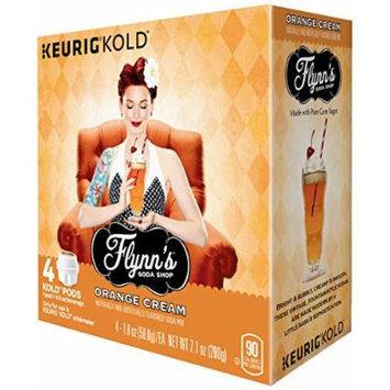 Keurig Flynn's Soda Shop Drink Mix, Orange Cream, 4 Count
