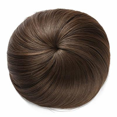 OneDor® Synthetic Hair Bun Extension Donut Chignon Hairpiece Wig (8A-Light Chestnut Brown)