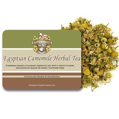 Egyptian Camomile Caffeine Free Herbal Tea - Loose Leaf - 8oz - .5lb
