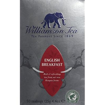 Williamson English Breakfast 50 Tea Bags 125g