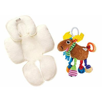 Summer Infant Snuzzler Head & Body Support with Take Along Toy, Moose