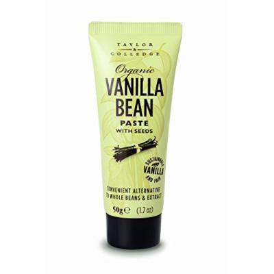 Taylor & Colledge Paste Tube, Organic Vanilla, 1.7 Ounce