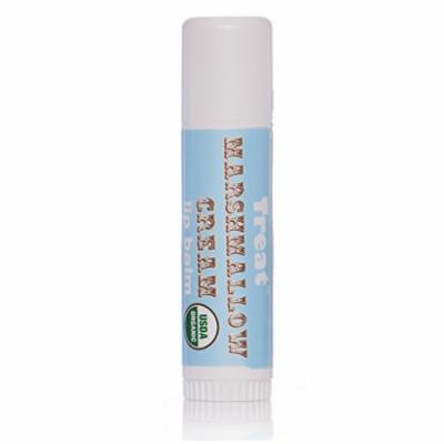 TREAT© Jumbo Lip Balm - Marshmallow Cream, Organic & Cruelty Free (.50 OZ)