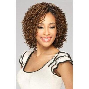 MilkyWay Que JERRY CURL 3PCS Human Hair MasterMix Weave Extension #1B/33