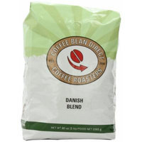 Coffee Bean Direct Danish Blend, Whole Bean Coffee, 5-Pound Bag