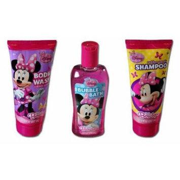 Disney Minnie Mouse Body Wash + Bubble Bath + Shampoo