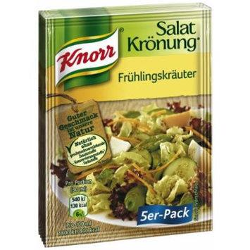 Knorr Salat Kronung Fruhlingskrauter (Spring Salad Herbs), 5-Count Packets (Pack of 5)