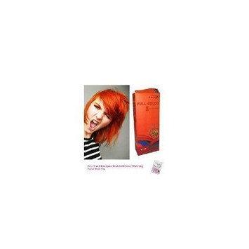 Special Sets : Premium Permanent Hair Color Cream Dye Goth Cosplay Emo Punk 0/57 Bright Orange