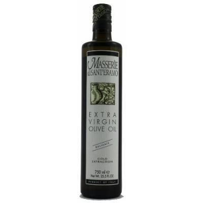 Masserie di Sant'Eramo Delicate Italian Extra Virgin Olive Oil, 750ml (25.5oz)
