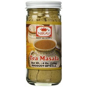 Nirav Tea Masala 4 oz - Ginger, Cinnamon, Cardamom