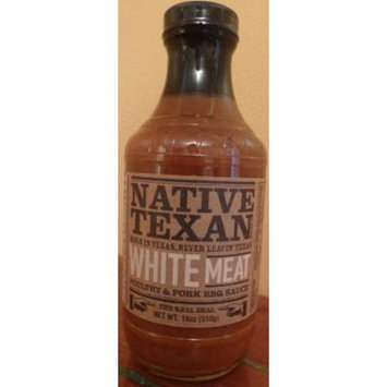 Native Texan BBQ Sauce 18oz Bottle (Pack of 3) (White Meat - Poultry and Pork)