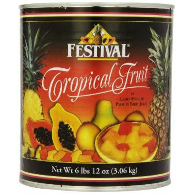 Festival Tropical Fruit in Light Syrup and Passion Fruit Juice, 108-Ounce
