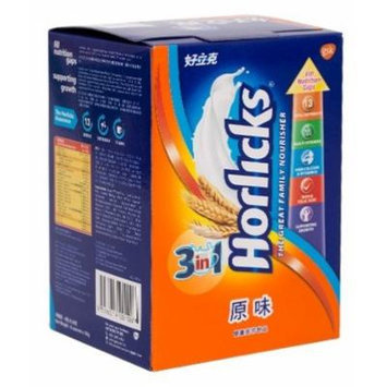 Horlicks - 3 in 1 Original Malt Drink Powder, the Great Family Nourisher (28g X 8 Sachets)
