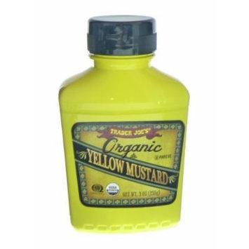 Trader Joe's Organic Yellow Mustard, 9 oz