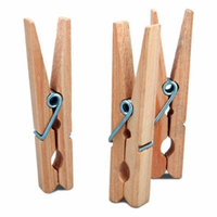 Project Source 50-Count Wooden Clothespins