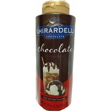 Ghirardelli Chocolate Premium Sauce Real Chocolate