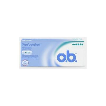 o.b. Pro Comfort HIGHEST ABSORPENCY TAMPONS 18-21g [EUROPEAN - Higher than Ultra] - 112 Count (7 x 16)