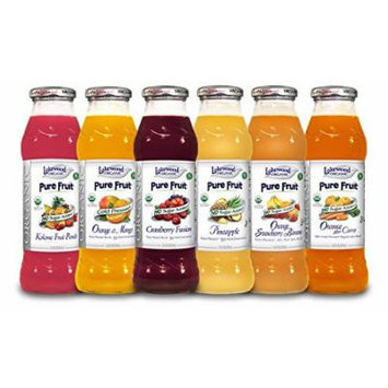 Lakewood Organic Juice Variety Pack 3, 12 Count (Pack of 12)