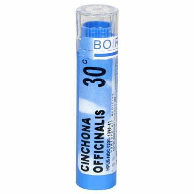 Boiron Homeopathic Medicine Cinchona Officinalis, 30C Pellets, 80-Count Tubes (Pack of 5)