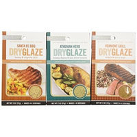 Urban Accents All Natural Gluten Free Grilling And Roasting DryGlaze 3 Flavor Variety Bundle: (1) Urban Accents Vermont Grill Maple & Spicy DryGlaze, (1) Urban Accents Athenian Herb Honey, Thyme & Sun-Dried Tomato DryGlaze, and (1) Urban Accents Santa...