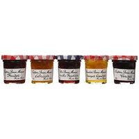 Bonne Maman Assorted Mini Jams - Strawberry, Apricot, Raspberry, Orange Marmalade, Cherry - 8.82 ounces total