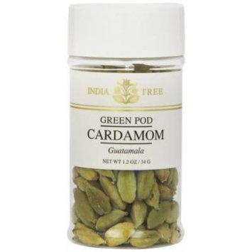 India Tree Cardamom, Green Pod, 1.2 Ounce