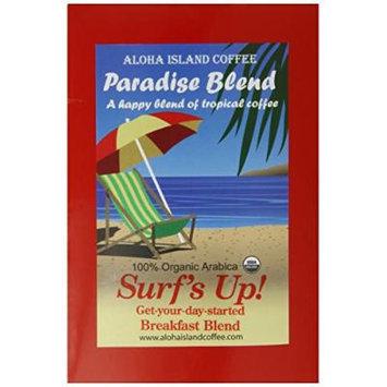 Aloha Island Coffee Company Surf's Up! Breakfast Blend, 18-Count Organic Coffee Pods