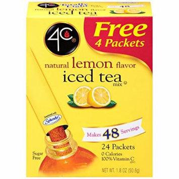 4C Totally Light Iced Tea - Lemon - 20 stix, 1.49 oz (Pack of 1)