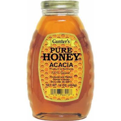 Gunter's Pure Acacia Honey - 1 lb.