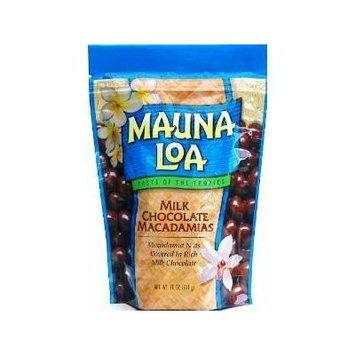 Hawaiian Lunch Bag Gift Basket Mauna Loa Macadamia Nuts Milk Chocolate 4 Bags #9