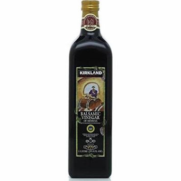 Kirkland Signature Aged Balsamic Vinegar, 1-liter (33.8 Fl Oz.) (3 Bottles)