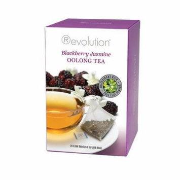Revolution Tea Bags - Blackberry Jasmine Oolong Tea - 20 Count