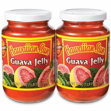 Hawaiian Sun Guava Jelly 2 Pack 18 Oz Jars
