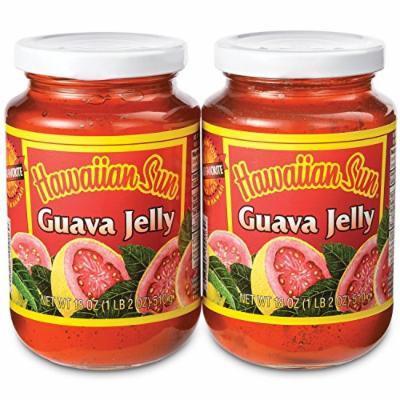 Hawaiian Sun Guava Jelly 2 Pack 18 Oz Jars