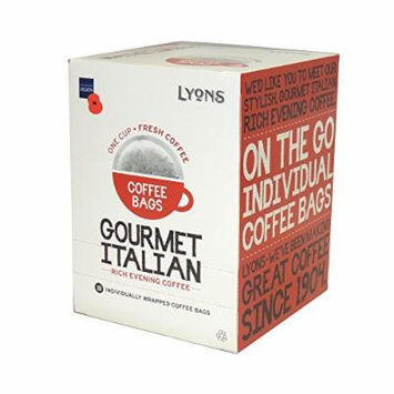 Lyons - Gourmet Italian - Coffee Bags - 125g (Case of 4)