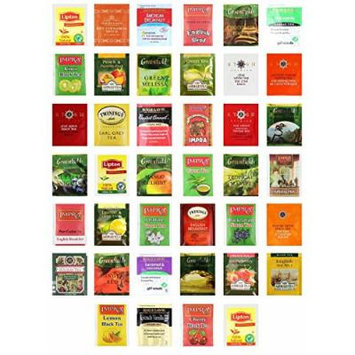 Custom Varietea Tea Bags Sampler Assortment Includes Mints (Pack of 40)
