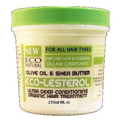 Eco Natural Eco-Lesterol Olive Oil & Shea Butter Used By Professionals