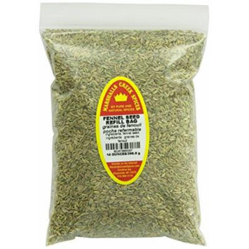 Marshalls Creek Spices Refill Pouch Fennel Seed Seasoning, XL, 16 Ounce