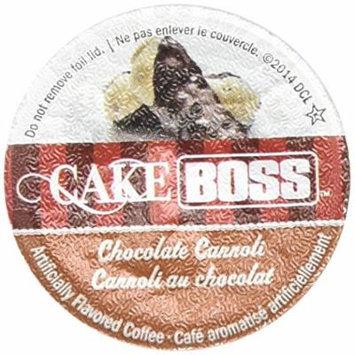 Cake Boss Coffee - Chocolate Cannoli - 48 Single Serve K Cups for Keurig Brewers