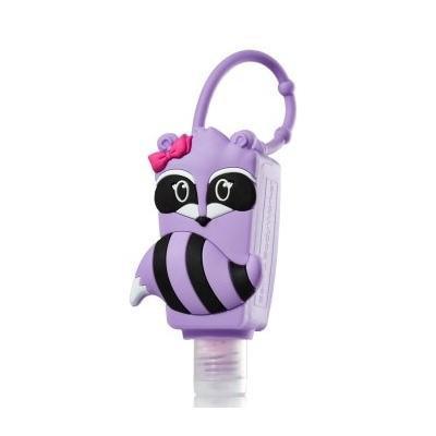 Purple Girl Raccoon Pocketbac Holder