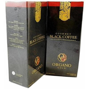 2 Boxes Organo Gold Gourmet Black Coffee Free 2 Sachets Gano Excel Classic