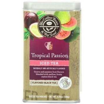 The Coffee Bean and Tea Leaf Iced Tea, Tropical Passion, 10 Count