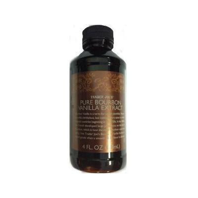 Trader Joe's Pure Bourbon Vanilla Extract - 4 Fl. Oz., 118ml in Plastic Bottle