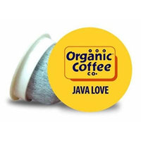 OneCup, Java Love, 36 Single Serve Coffees by The Organic Coffee Co.
