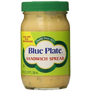 Blue Plate Sandwich Spread, 8 Ounce (Pack of 12)